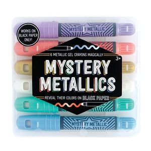 CERAS MYSTERY METALLICS CRAYONS OOLY 6 COLORES 133-082