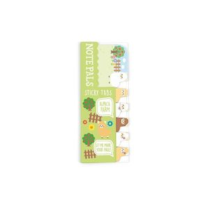 NOTE PALS STICKY TABS ALPACA FARM OOLY 121-003