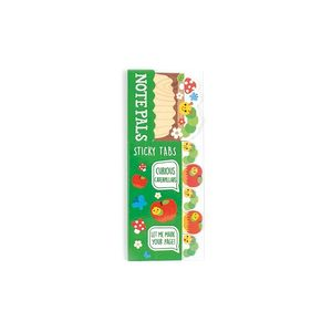 NOTE PALS STICKY TABS CURIOUS CATERPILLARS OOLY 121-006