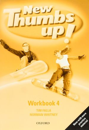 INGLES NEW THUMBS UP! 4 WORKBOOK - OXFORD
