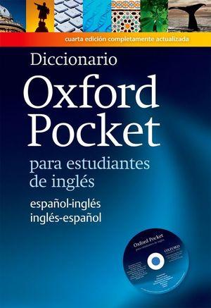 (11) DICCIONARIO OXFORD POCKET(+CD) (4ED) (ING-ESP.VV)