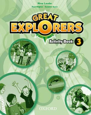 GREAT EXPLORERS 3 ACTIVITY BOOK