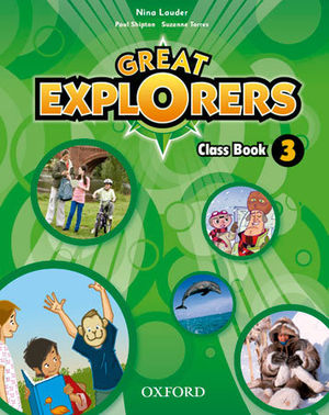 GREAT EXPLORERS 3 CLASS BOOK