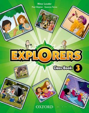 (11).EXPLORERS 3º.PRIM.(CLASS BOOK+SONGS CD)
