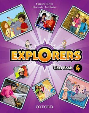 (11).EXPLORERS 4º.PRIM.(CLASS BOOK+SONGS CD)