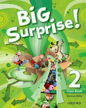 BIG SURPRISE! 2º.PRIM.(COURSEBOOK+MULTIROM PACK)