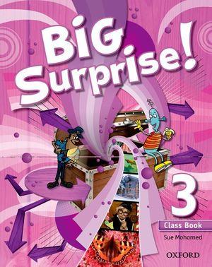BIG SURPRISE! 3º.PRIM.(COURSEBOOK)