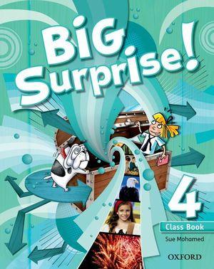 BIG SURPRISE! 4º.PRIM.(COURSEBOOK)