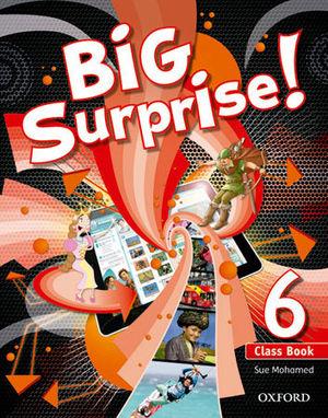 BIG SURPRISE! 6º.PRIM.(COURSEBOOK)