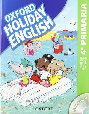 (12).HOLIDAY ENGLISH 4 PRIMARIA (+CD)