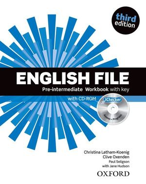ENGLISH FILE PRE-INTERMEDIATE.(WORKBOOK+KEY)
