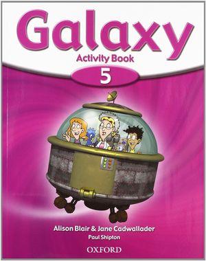 INGLES GALAXY 5 ACTIVITY BOOK - OXFORD
