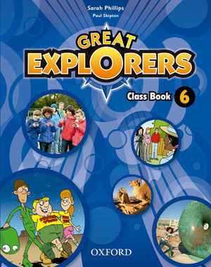 GREAT EXPLORERS 6 CLASS BOOK REV