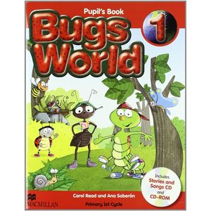 ***BUGS WORLD 1O.PRIM.(STUDENT´S PACK)