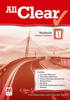 ALL CLEAR 1. WORKBOOK. SPANISH EDITION.