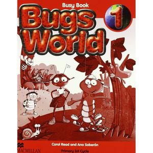 ***BUGS WORLD 1 BUSY BOOK