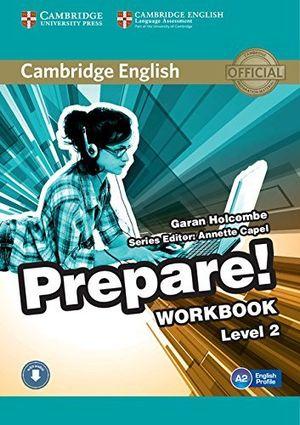 CAMBRIDGE ENGLISH PREPARE! 2. WORKBOOK +CD