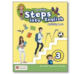 STEPS INTO ENGLISH 3 AB ACTIVITY BOOK PACK