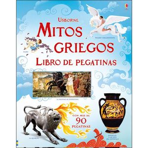 MITOS GRIEGOS LIBRO DE PEGATINAS