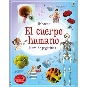 EL CUERPO HUMANO LIBRO DE PEGATINAS