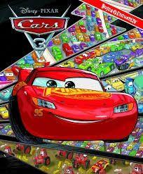 CARS 3. BUSCA Y ENCUENTRA