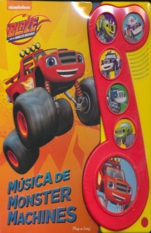 MUSICA DE MONSTER MACHINES - BLAZE - LIBRO DE SONIDOS