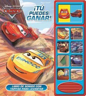 TU PUEDES GANAR - CARS - LIBRO DE SONIDOS