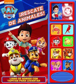 LEVANTA Y ESCUCHA PATRULLA CANINA RESCATE DE ANIMALES