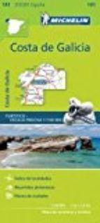 MAPA CARRETERAS ZOOM COSTA DE GALICIA  141 ESCALA 1:150 000 2017