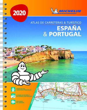 ESPAÑA & PORTUGAL (FORMATO A-4) (ATLAS DE CARRETERAS Y TURÍSTICO )
