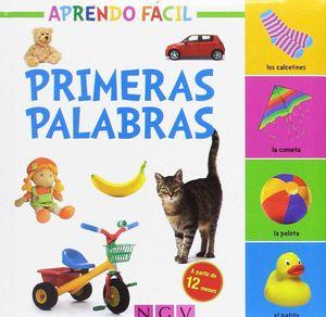 PRIMERAS PALABRAS APRENDO FACIL