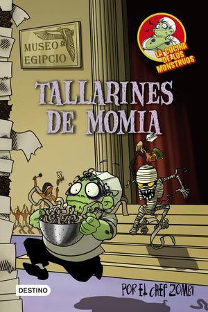 COCINA DE MONSTRUOS 2 TALLARINES DE MOMIA