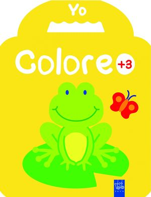 YO COLOREO +3. RANA
