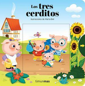 LOS TRES CERDITOS - LIBRO PIEZAS MOVILES
