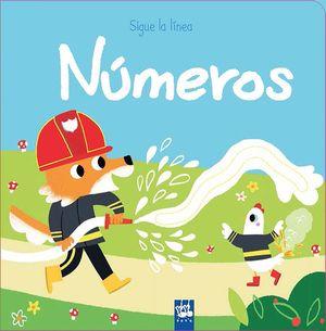 NÚMEROS  - SIGUE LA LINEA -