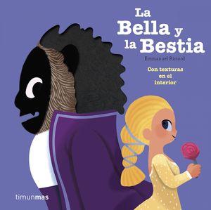 LA BELLA Y LA BESTIA CON TEXTURAS EN EL INTERIOR