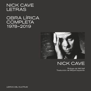 NICK CAVE. LETRAS