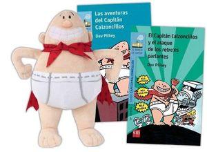 PACK CAPITÁN CALZONCILLOS + MUÑECO