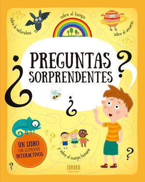 PREGUNTAS SORPRENDENTES  - LIBRO CON ELEMENTOS INTERACTIVOS