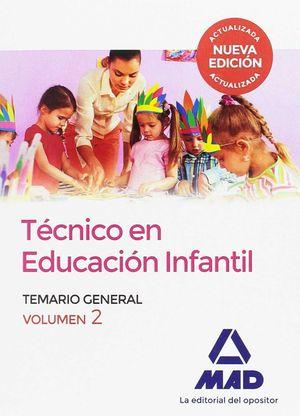 TÉCNICO EN EDUCACIÓN INFANTIL. VOLUMEN 2