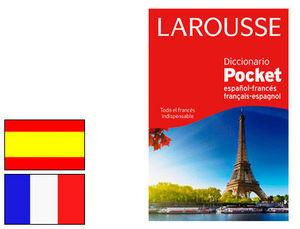 DICCIONARIO LAROUSSE POCKET ESPAÑOL-FRANCÉS / FRANÇAIS-ESPAGNOL