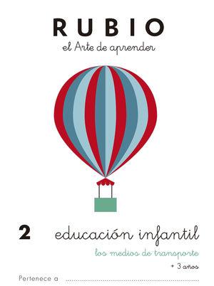 EDUCACIÓN INFANTIL 2. LOS MEDIOS DE TRANSPORTE