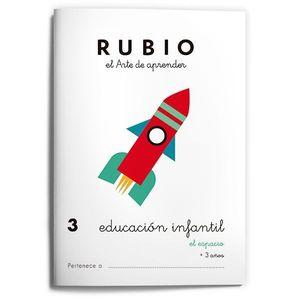 EDUCACIÓN INFANTIL 3. EL ESPACIO ( RUBIO )