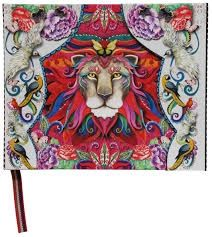 INTO THE WILD 3 CUADERNO CARTONE BONCAHIER TIGRE