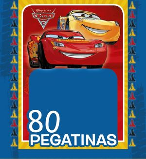 CARS 3. 80 PEGATINAS DISNEY