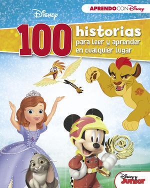 DISNEY JUNIOR (100 HISTORIAS DISNEY PARA LEER Y APRENDER EN CUALQUIER LUGAR)
