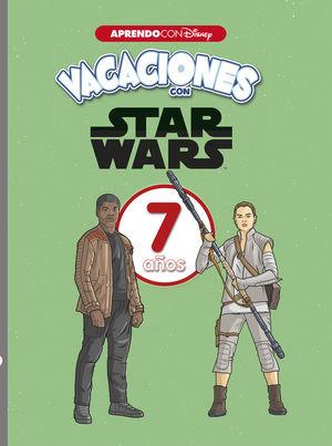 VACACIONES CON STAR WARS. 7 AÑOS (APRENDO CON DISNEY)