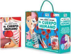 EL CUERPO HUMANO LIBRO + PUZZLE CON SILUETAS