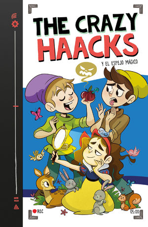 5 THE CRAZY HAACKS Y EL ESPEJO MÁGICO (SERIE THE CRAZY HAACKS 5)