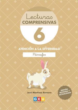 LECTURAS COMPRENSIVAS 6